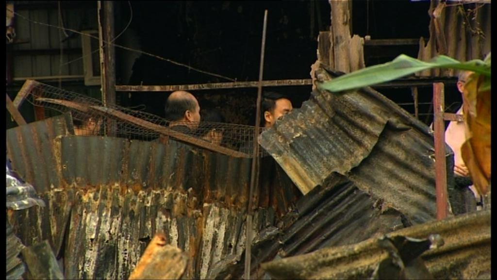 天水圍鐵皮屋火警兩死 警捕尼泊爾籍男