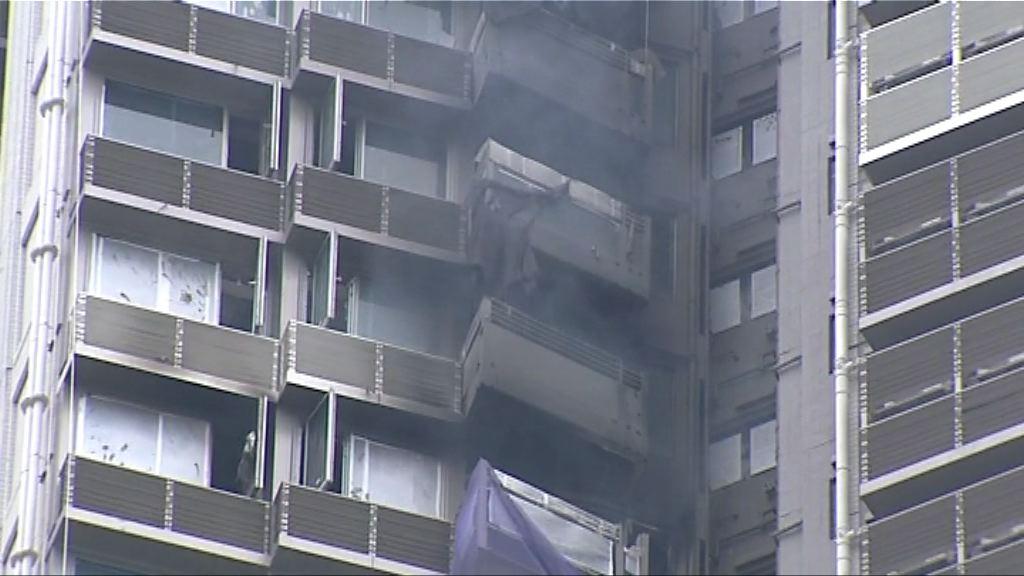 荃灣海之戀地盤火警疏散50人
