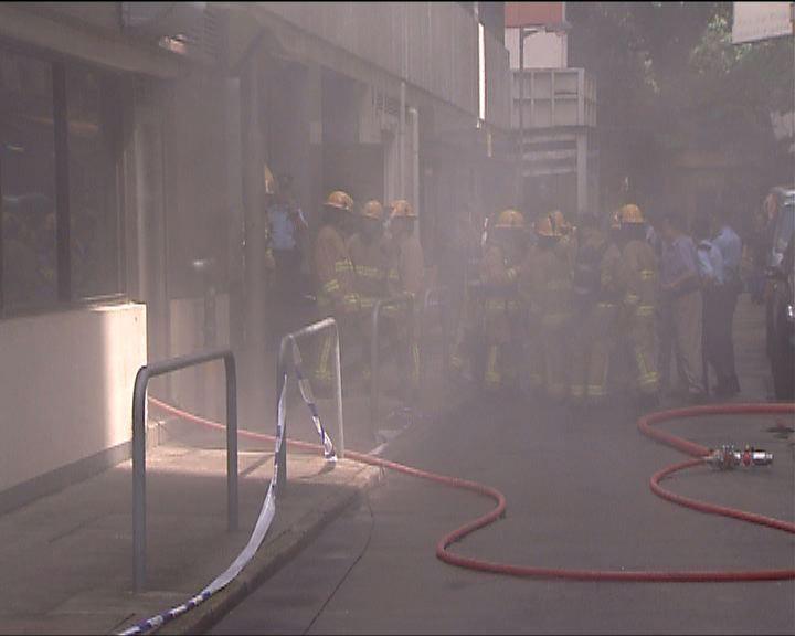 灣仔餐廳廚房起火致三百人疏散