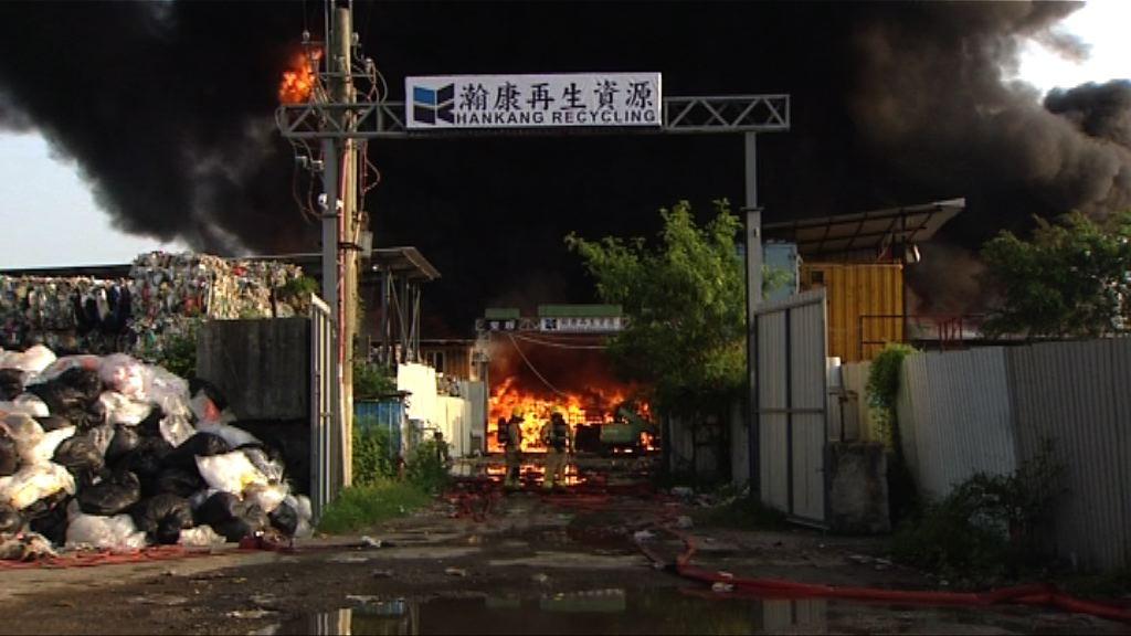 元朗三級火起因有可疑 警列縱火處理
