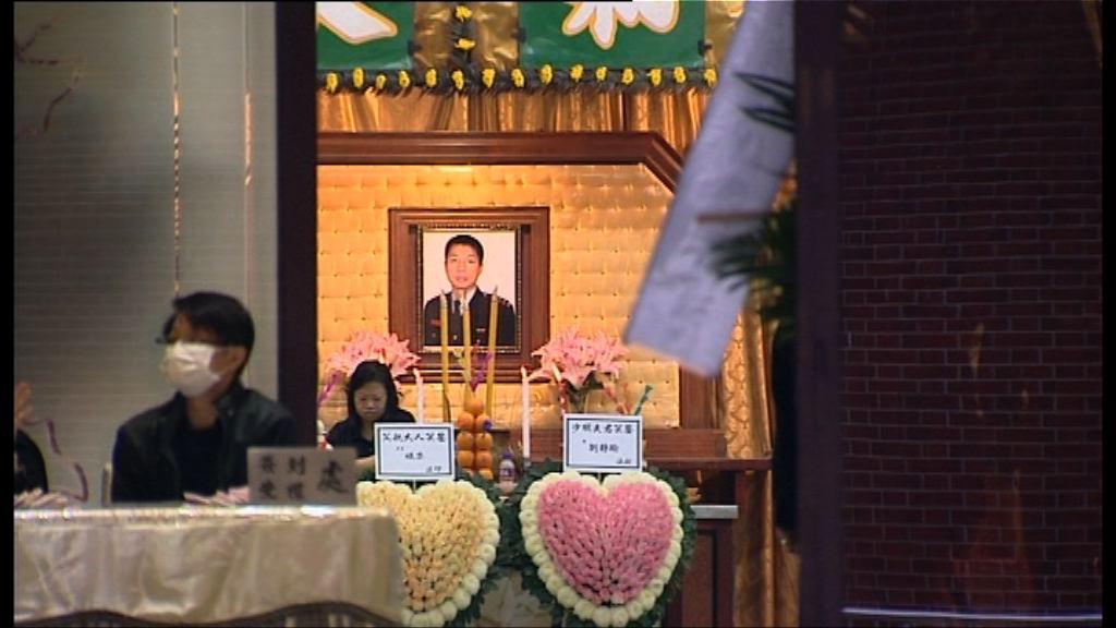 消防邱少明今舉行最高榮譽喪禮