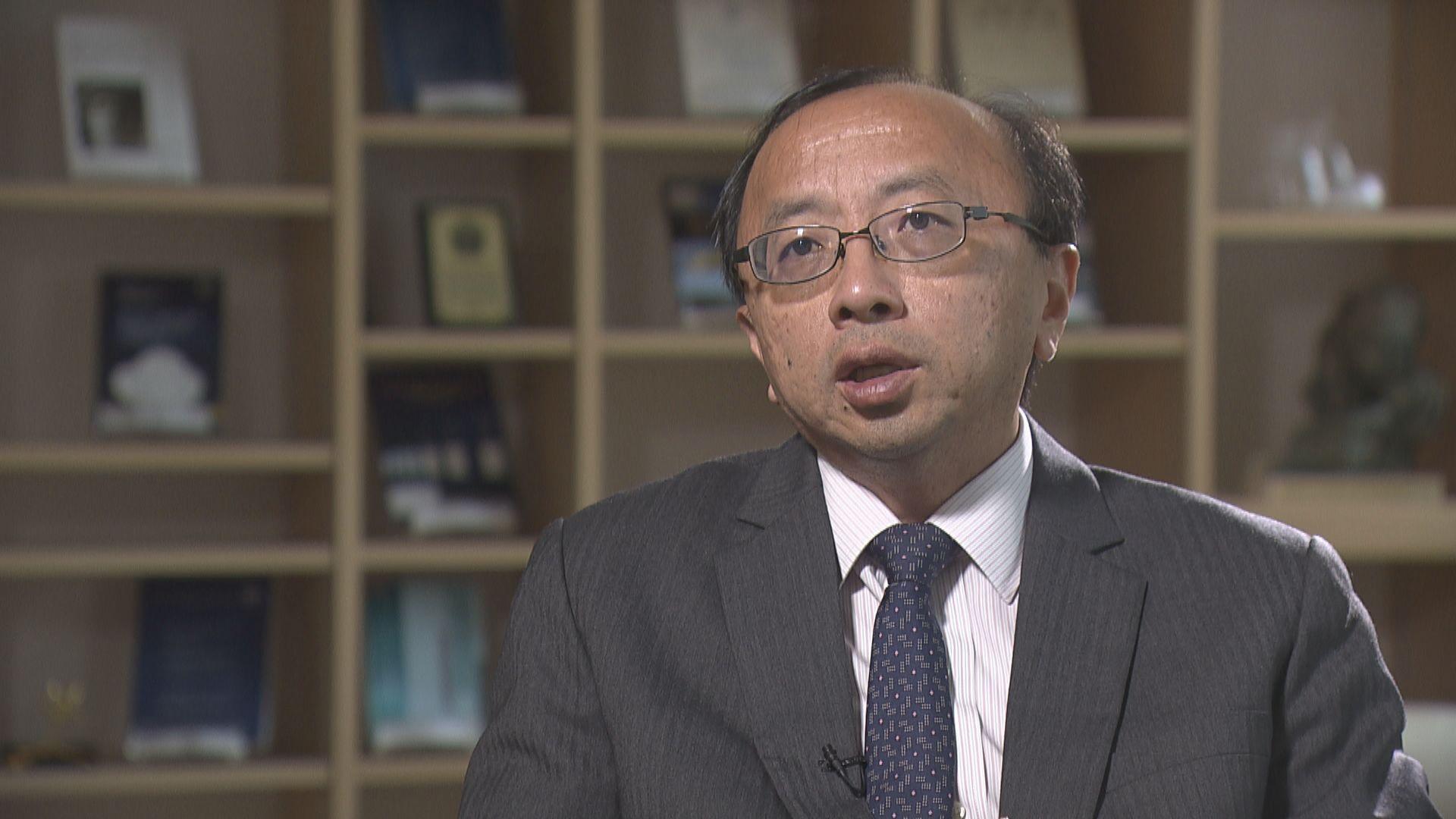 張達明:應移交香港法庭處理違反港區國安法案件