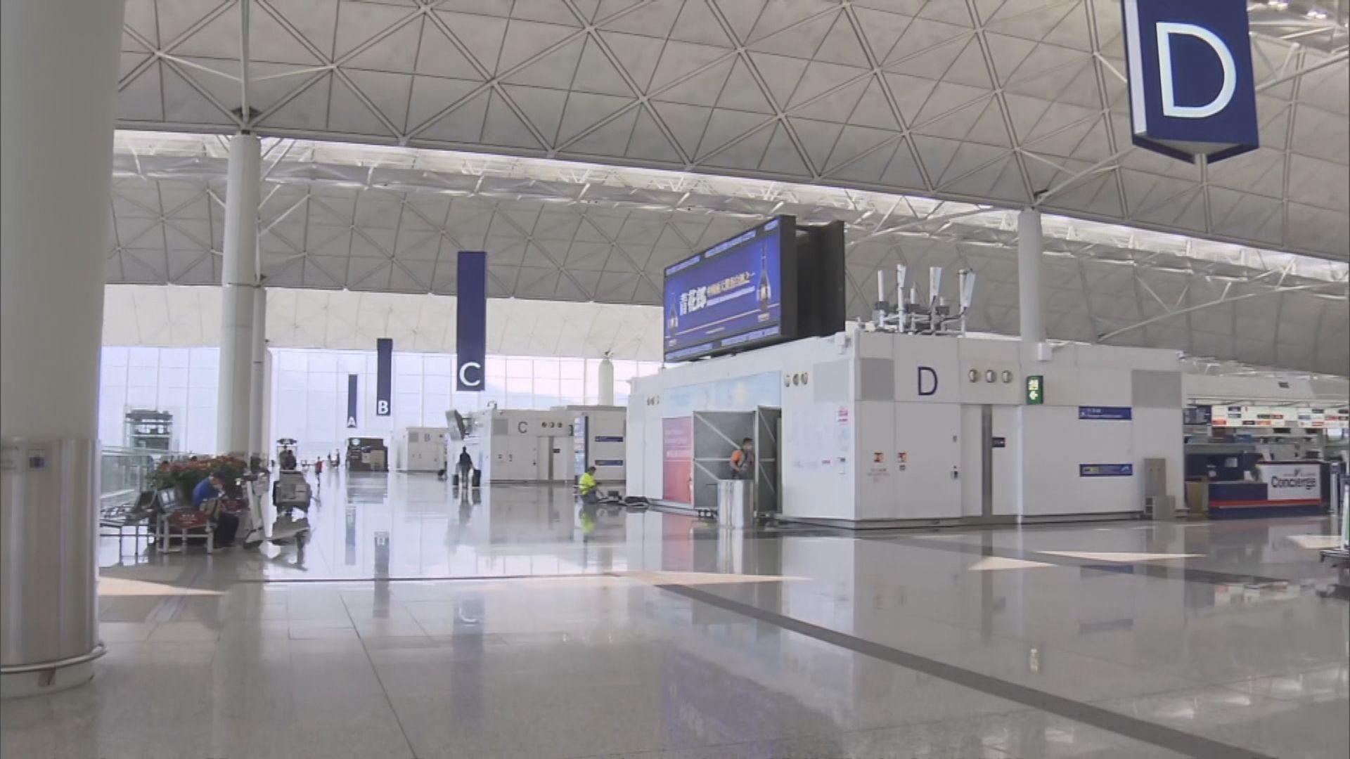 機管局指周一起飛北京旅客須具有效病毒檢測證明