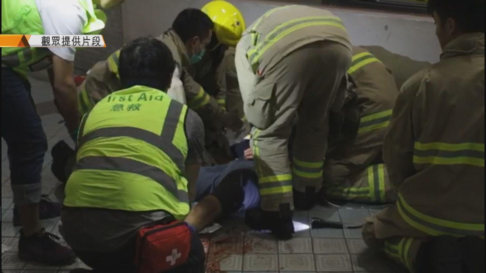 科大學生疑避催淚彈期間墮樓受傷