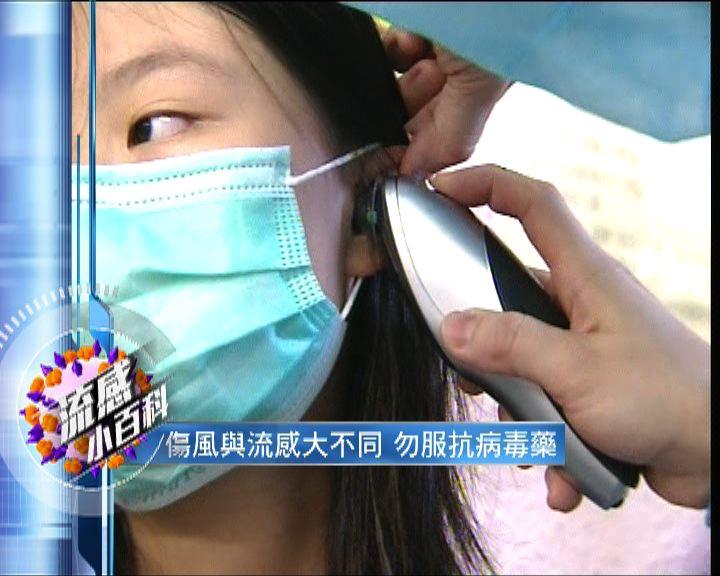 【流感小百科】與傷風不同勿服抗病毒藥