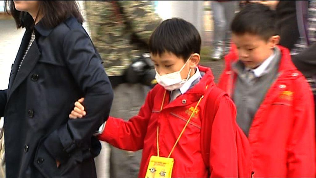 6歲男童流感亡 全港學校今起為學生量體溫