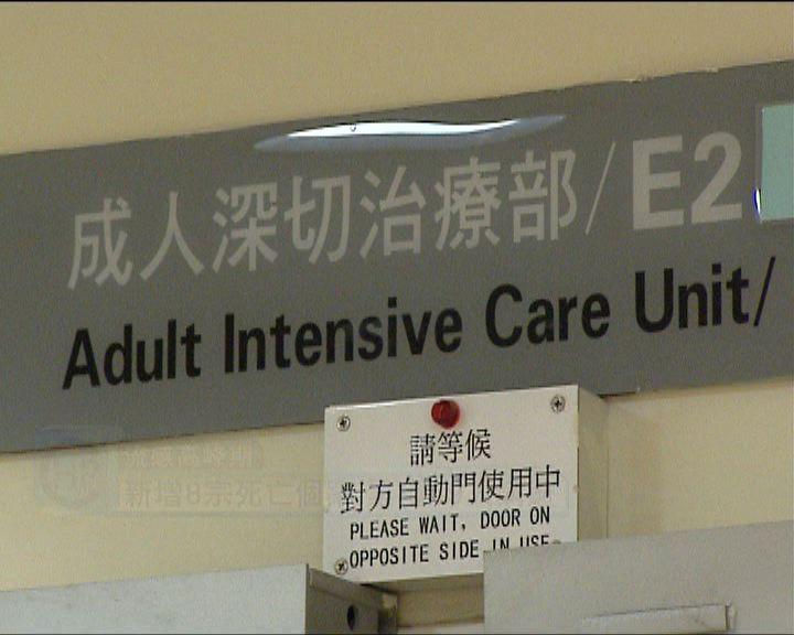 新增8人流感亡 11人住深切治療部