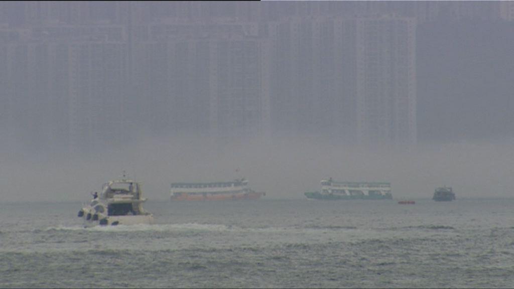 大霧影響港澳船及直升機服務