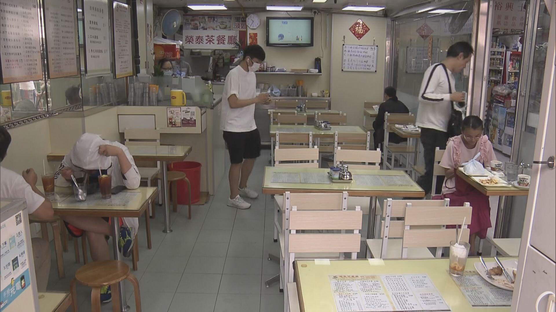 晚上禁堂食 餐飲業界估計七月生意額跌六成