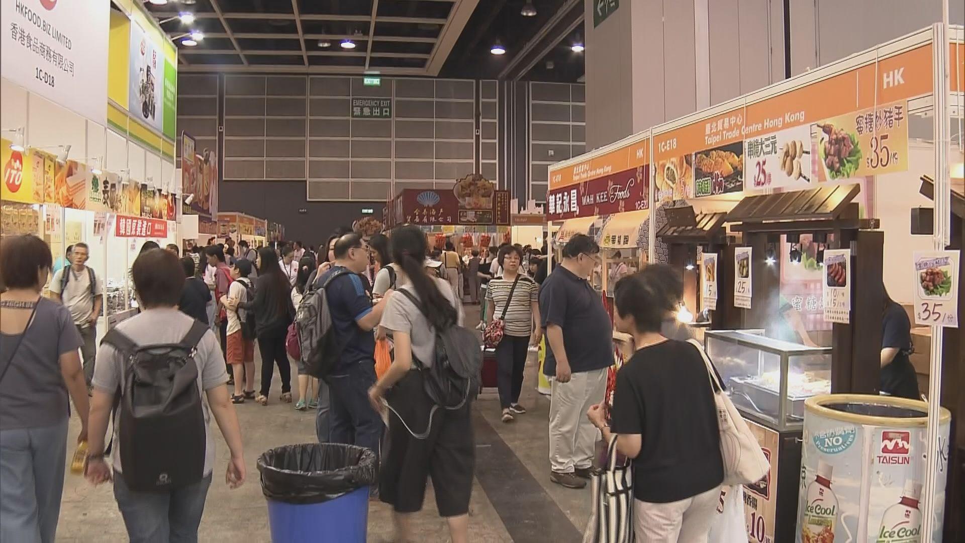 美食博覽開鑼 參展商有信心生意額增