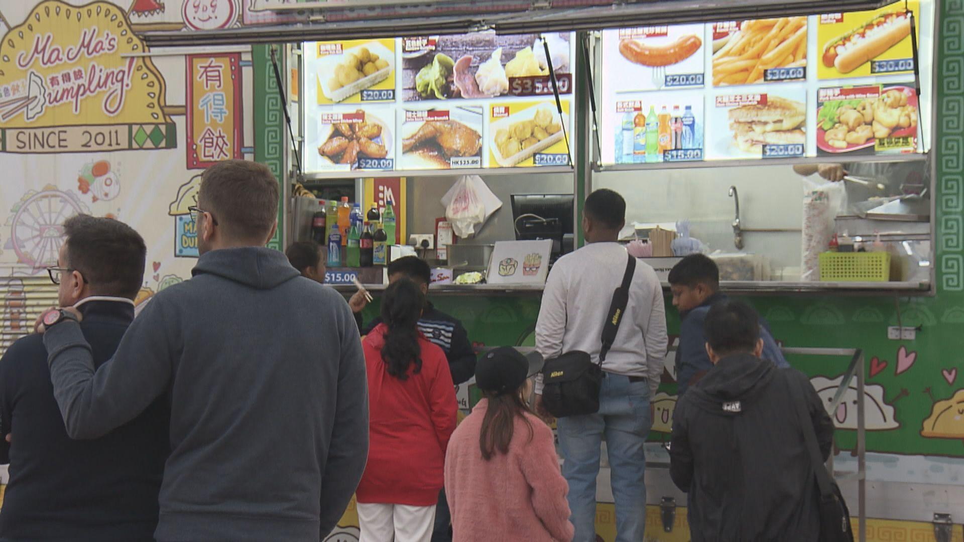 政府延長美食車先導計劃至2022年