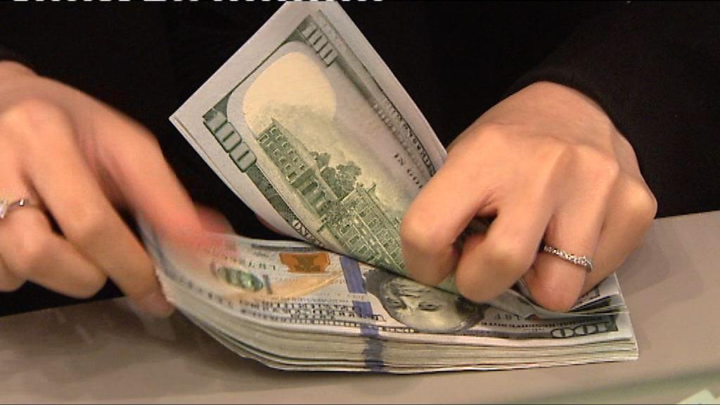 美參議院通過稅改方案 美元上升