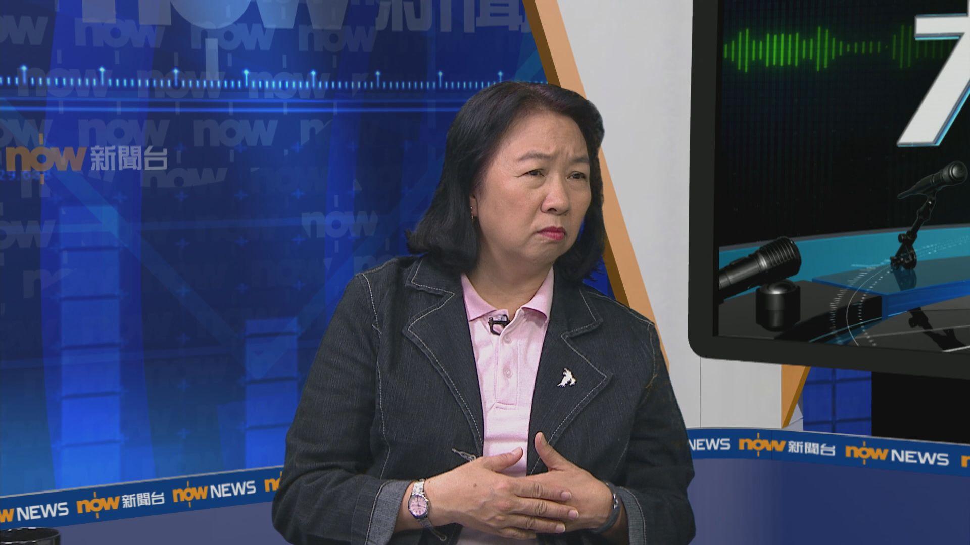 鄭麗琼︰區會譴責官員為反映民意 不滿公務員離場