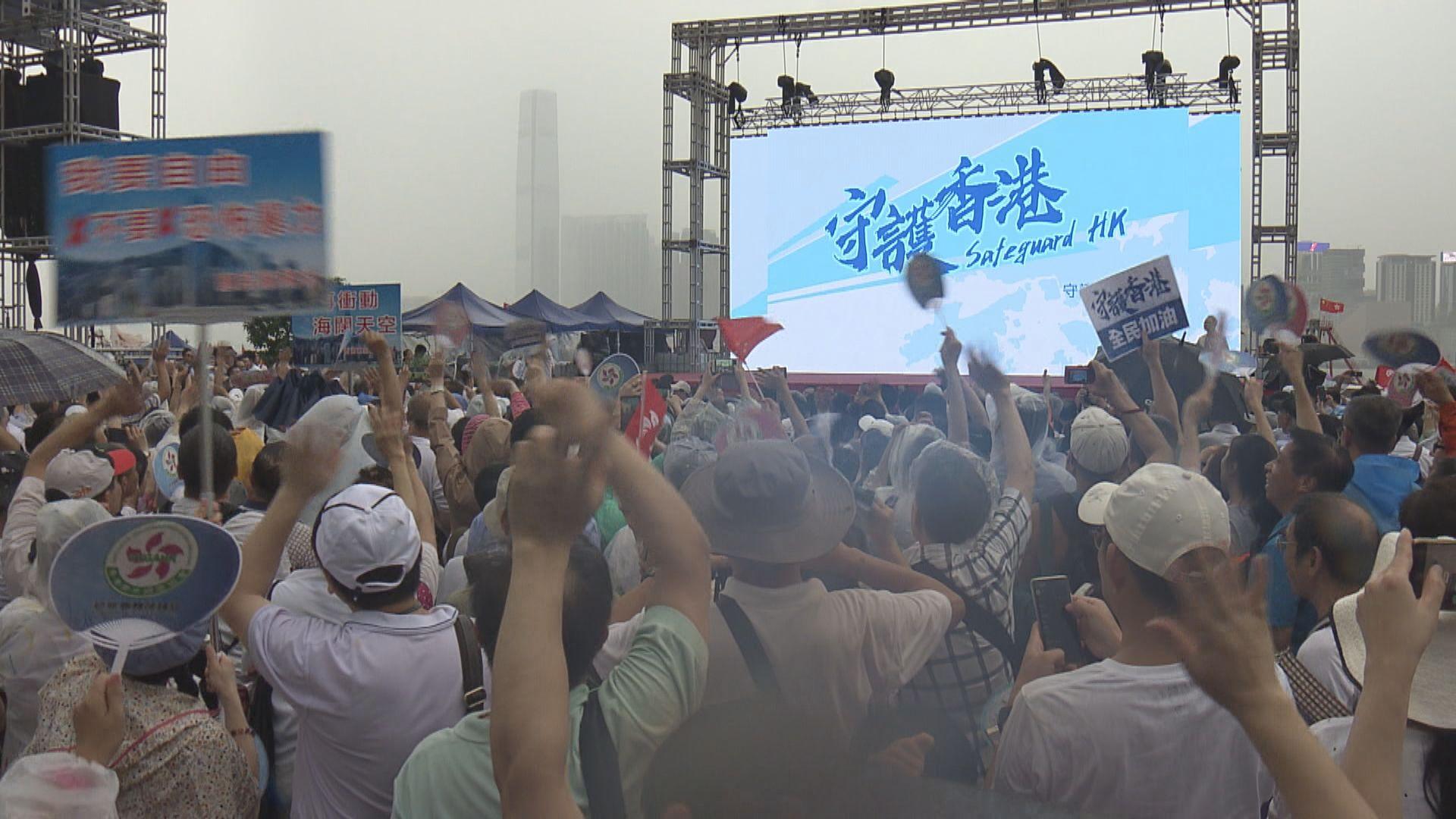 警務處處長蕭澤頤:言論自由非無止境 不肯定口號是否涉港獨就不應嘗試