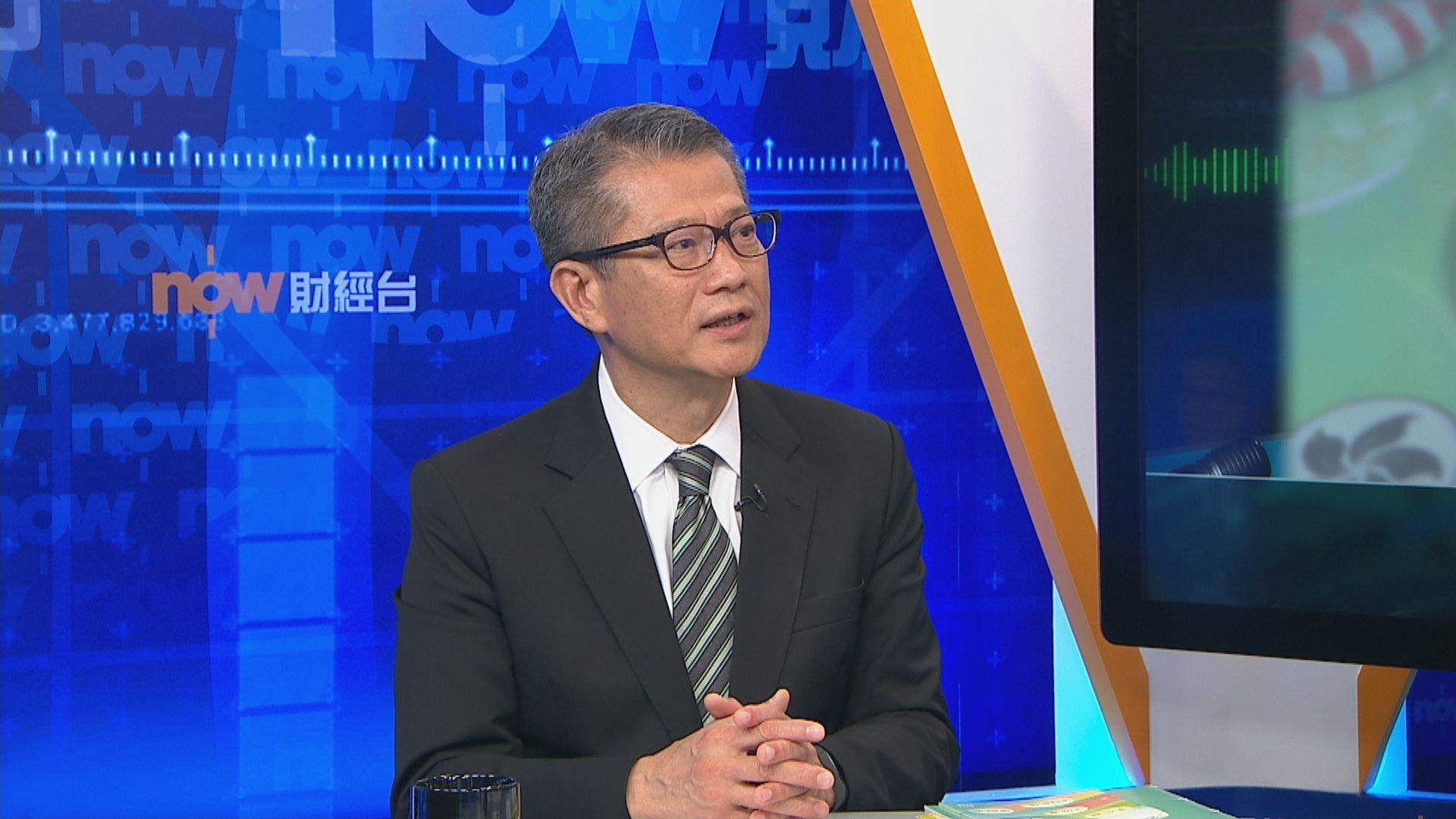 陳茂波認為外界對預算案反應「還可以」
