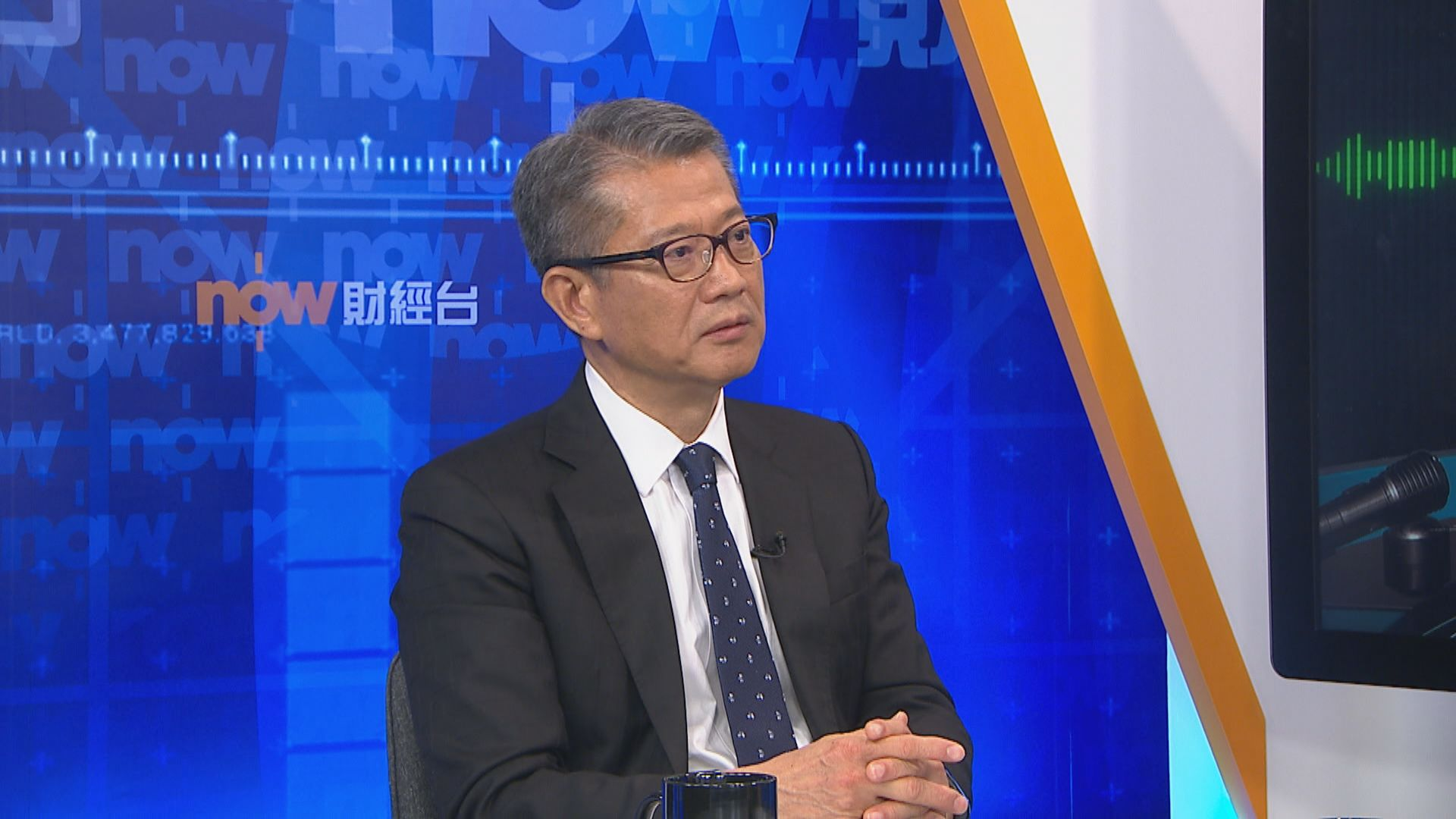 陳茂波擔心經濟逆轉較以前更難復元
