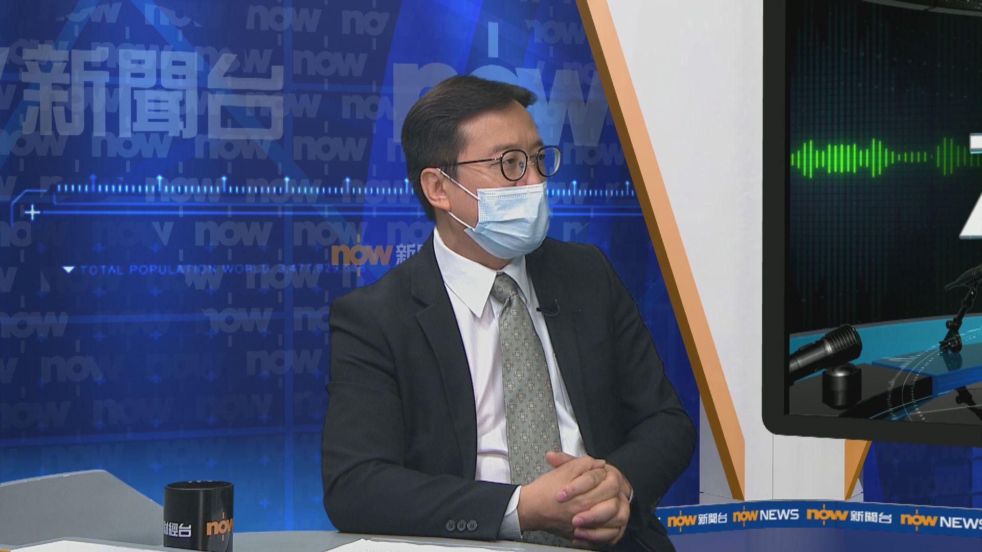陳澤銘:律師會評論社會事件只從法律角度出發不涉政治