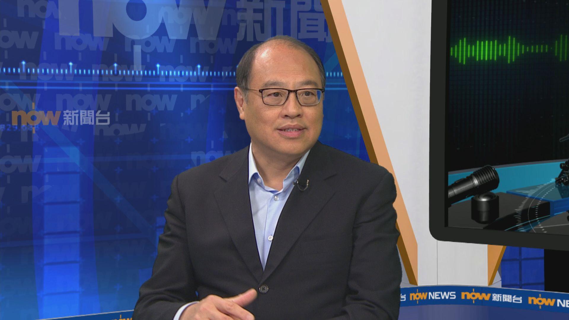 林大輝:理大被佔時與警保聯絡 同意和平止暴制亂