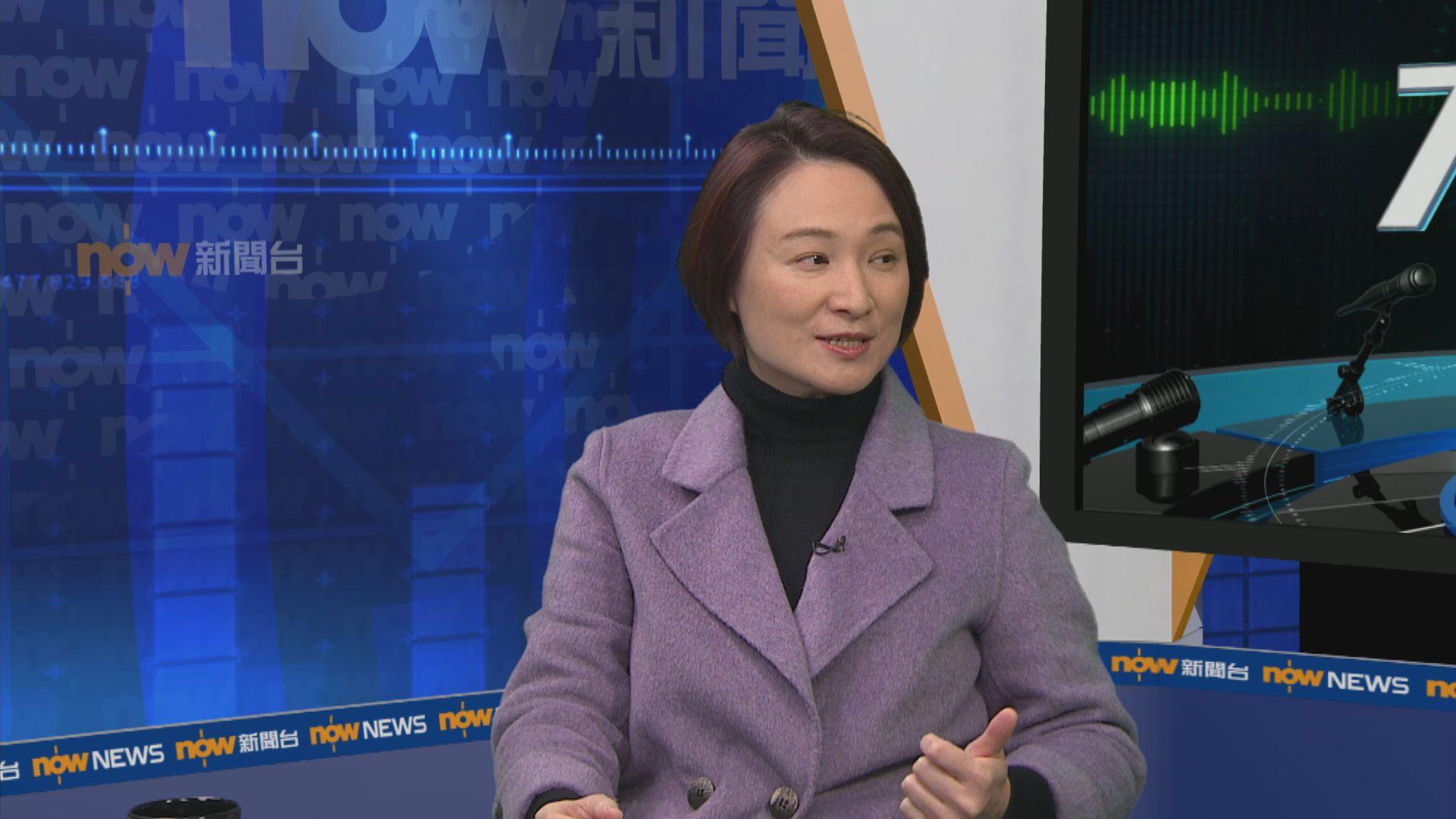 李慧琼:必要時可考慮引緊急法介入口罩市場