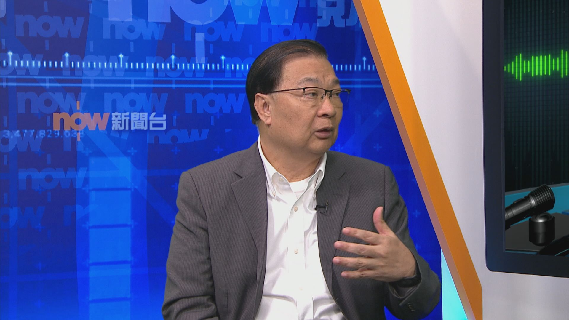 譚耀宗指警方已拘捕大量示威者有阻嚇作用
