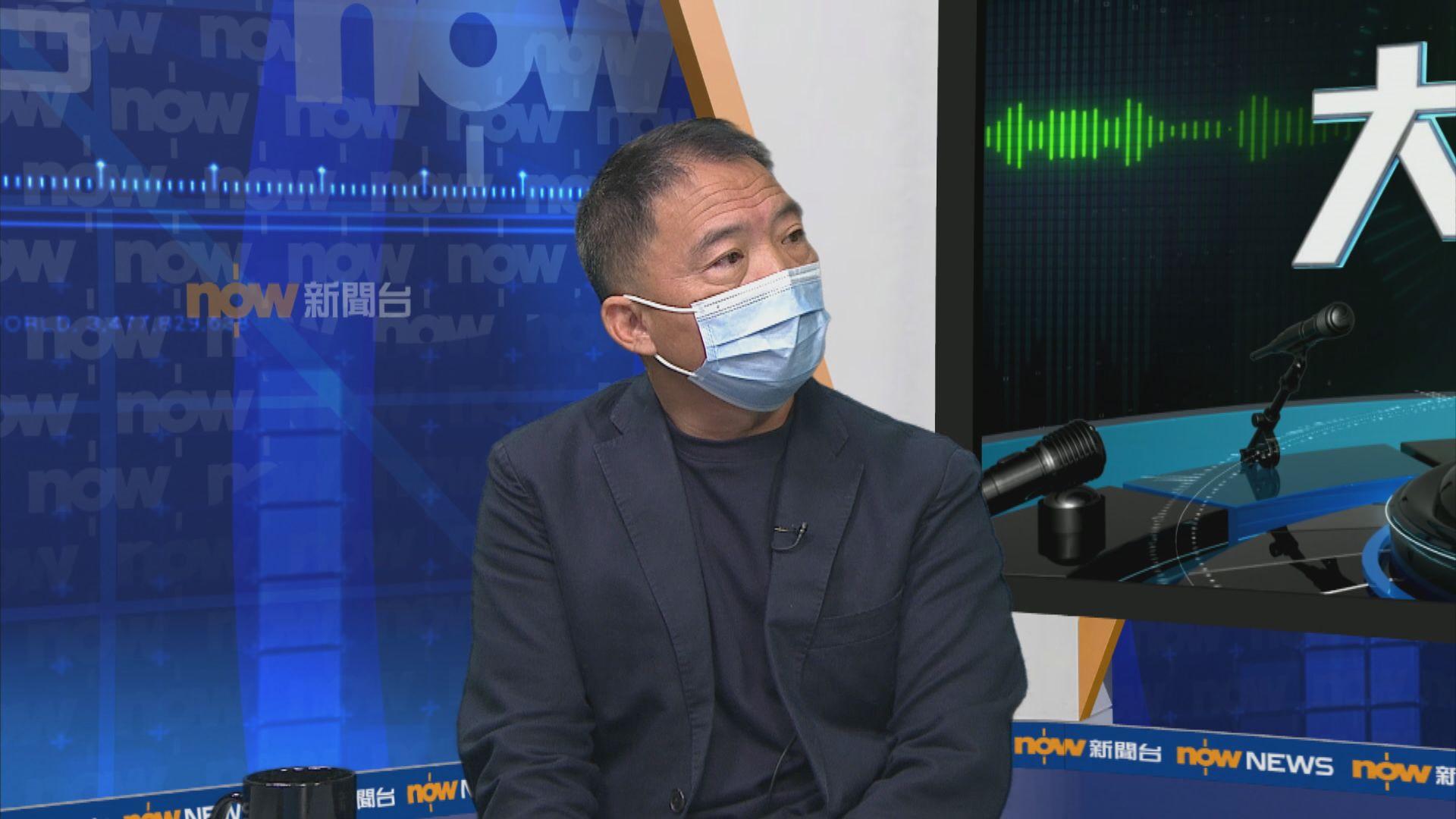 胡志偉:民調受訪者經隨機抽樣 不能與特首選舉相提並論