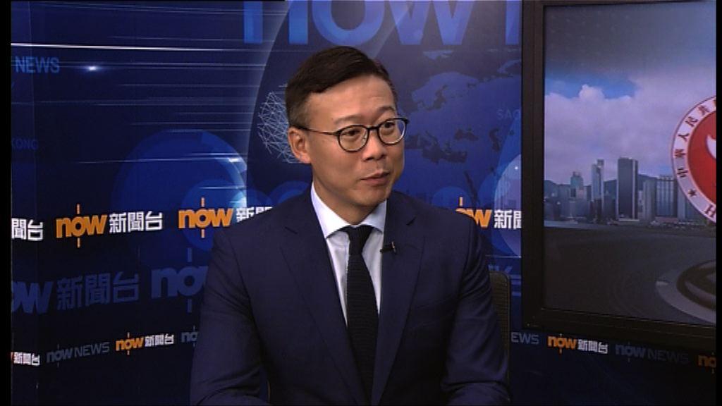 張國鈞:不會因泛民政府關係靠攏不高興