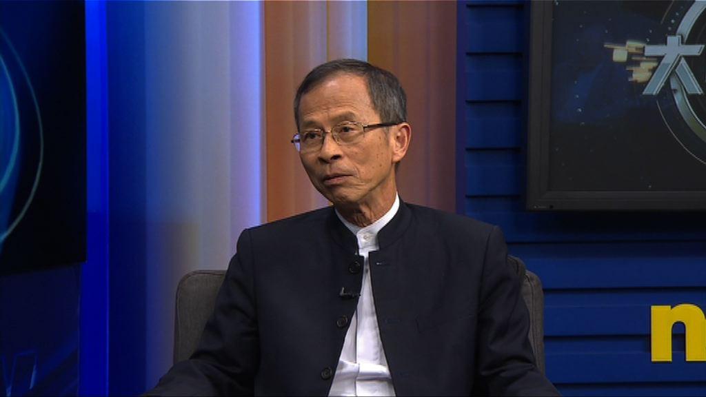 曾鈺成:基本法沒提國民責任令港難推國教
