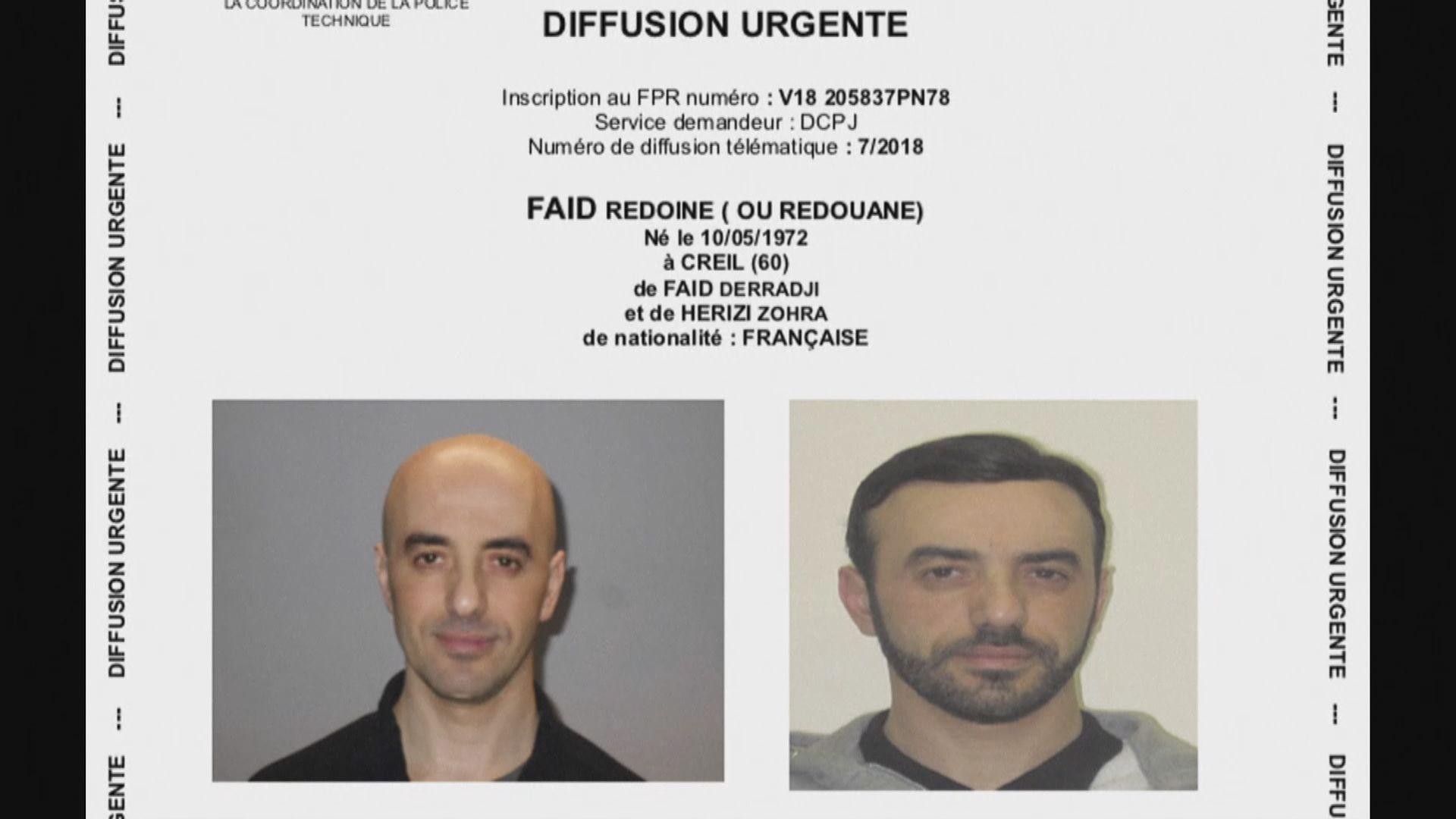 法國越獄連環搶劫犯再度落網