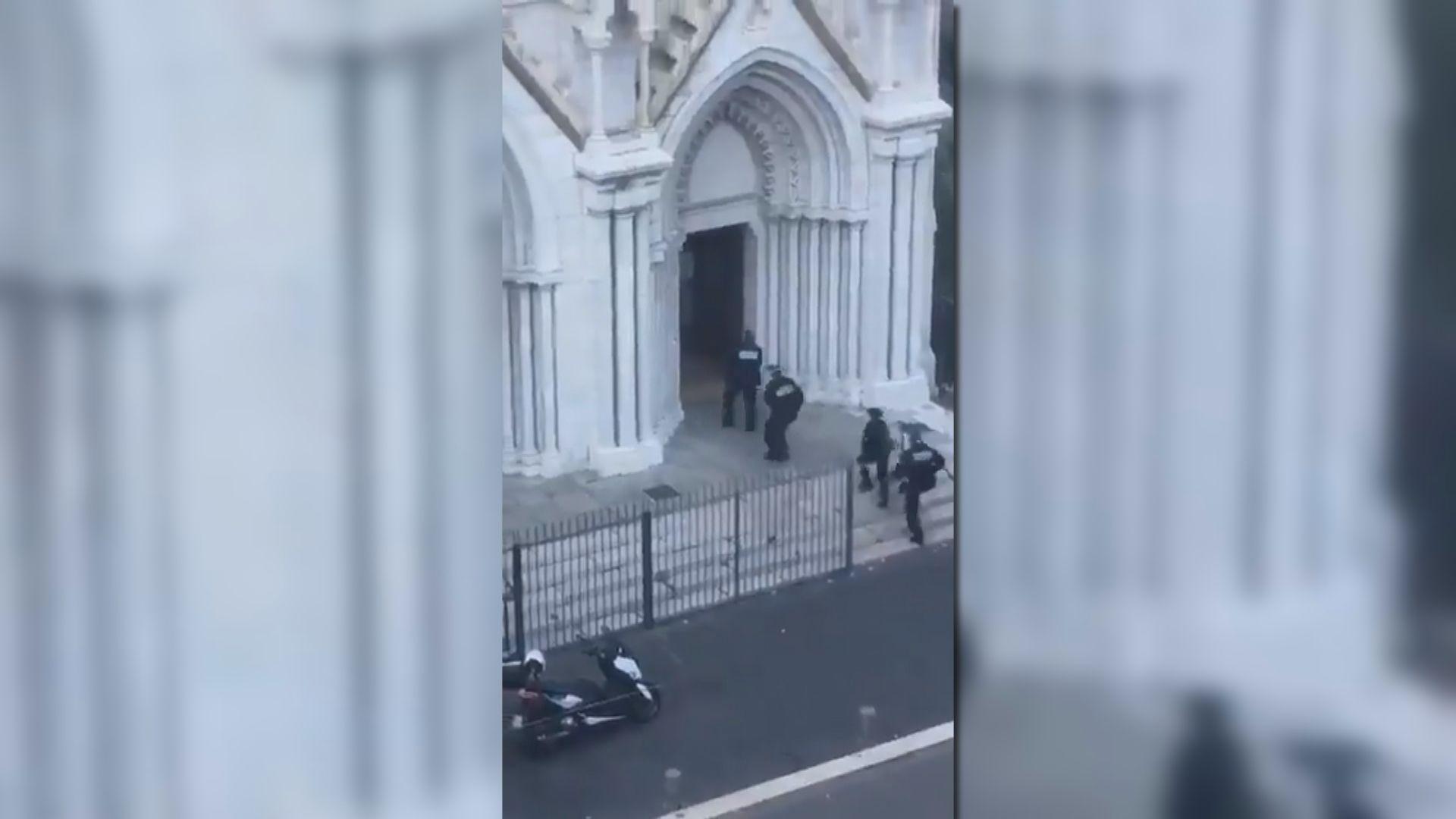 法國南部接連發生襲擊 全國提升恐襲警戒級別至最高級