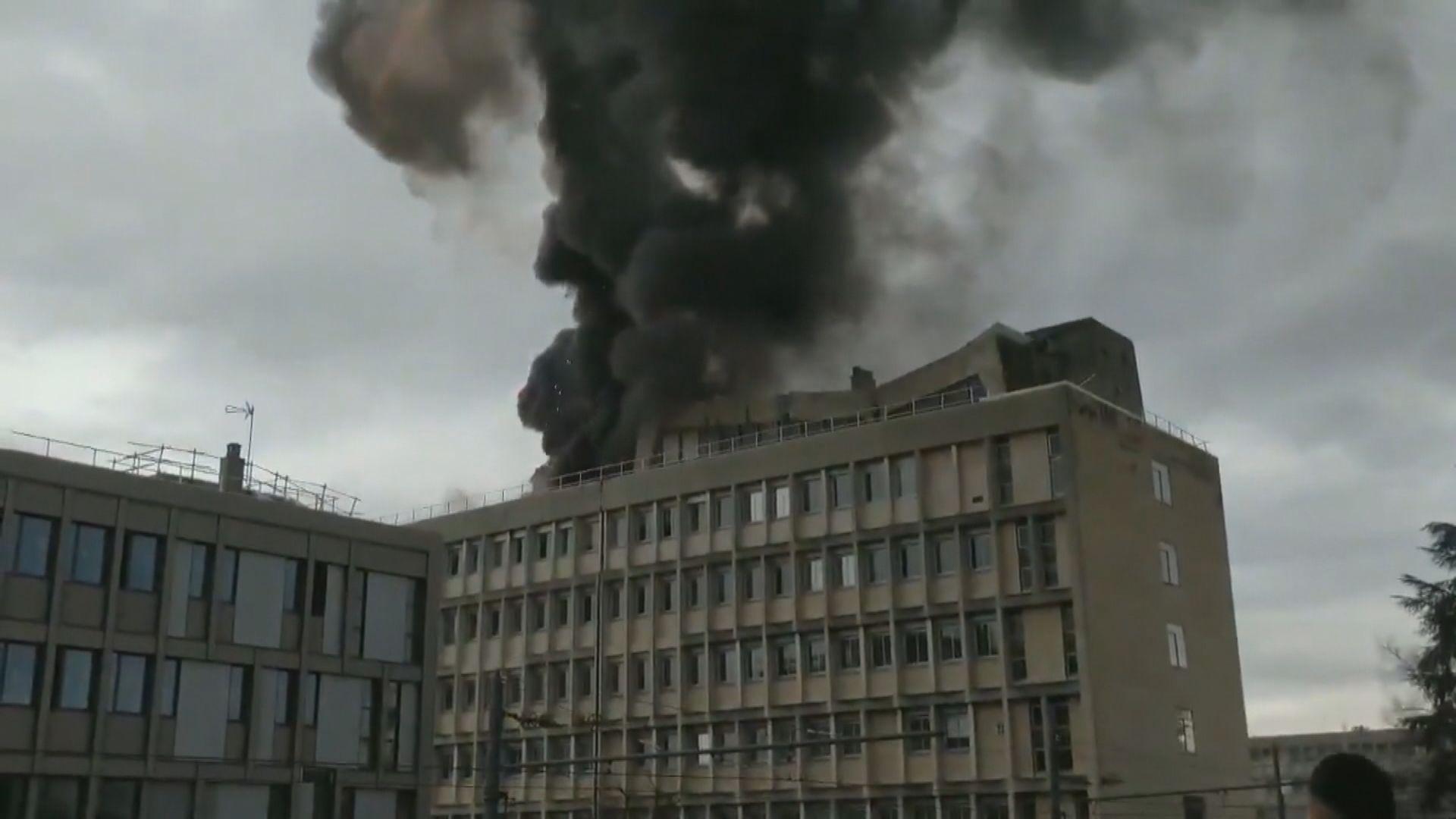法國里昂大學爆炸多人受傷