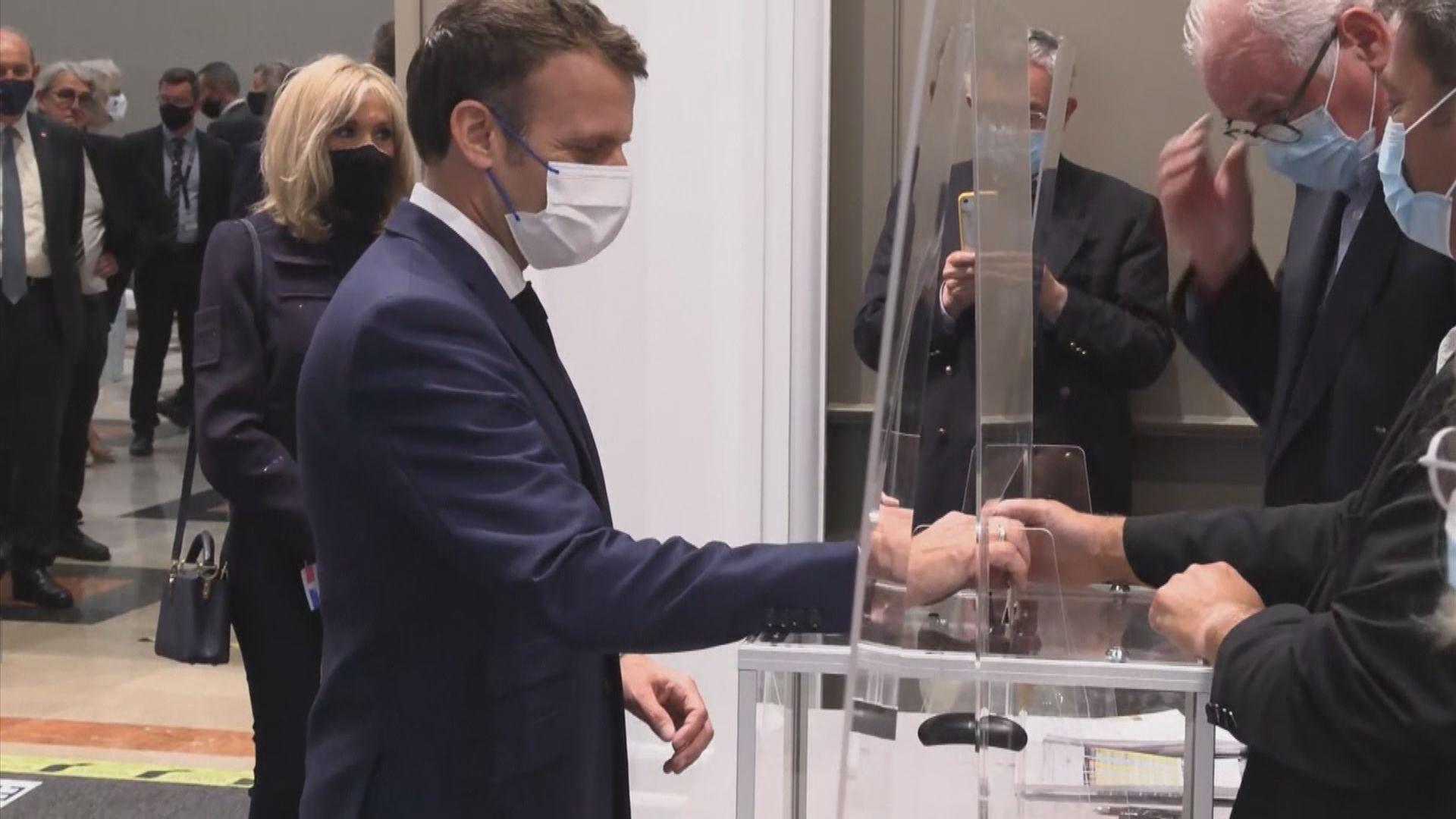 法國第二輪地方選舉 馬克龍所屬政黨和極右政黨均失利