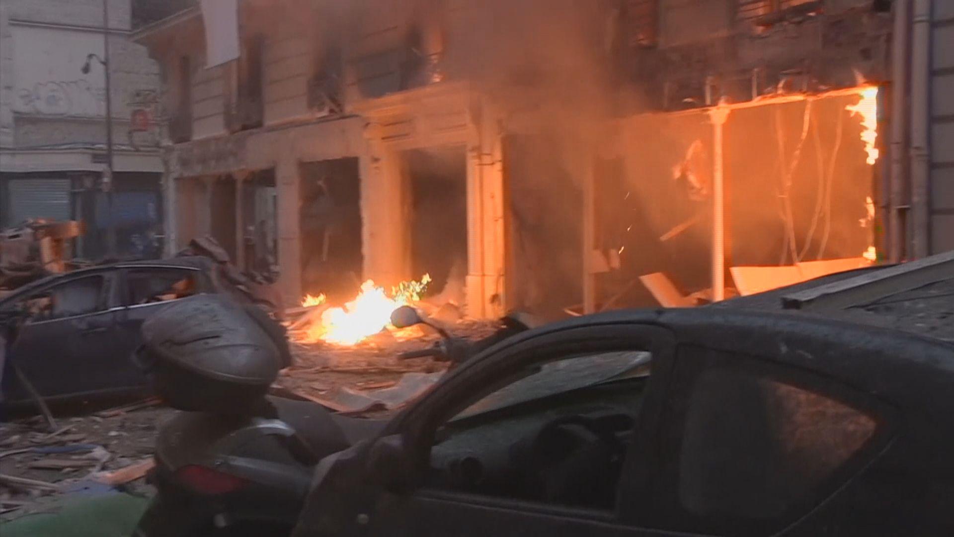 巴黎有麵包店爆炸 最少兩死