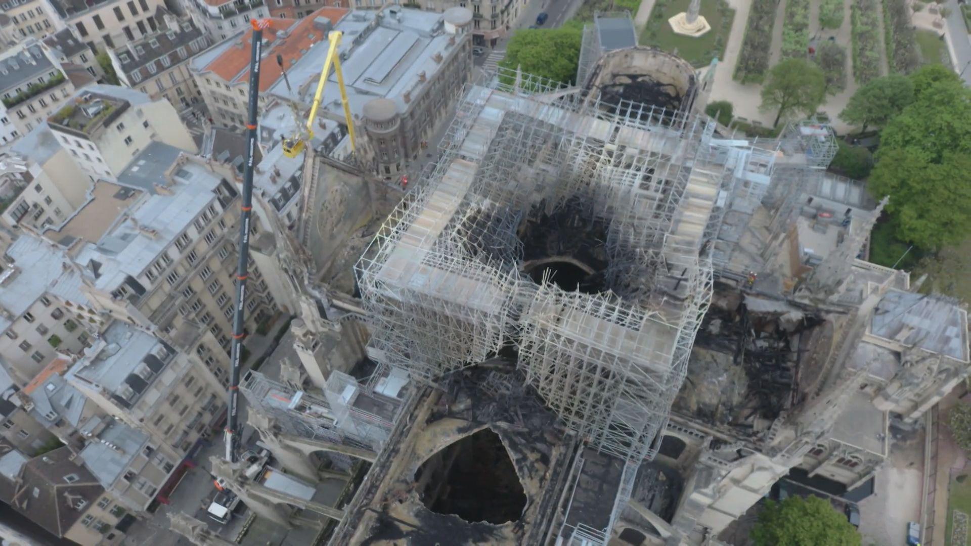 法國舉辦國際比賽 盼以新科技修復聖母院
