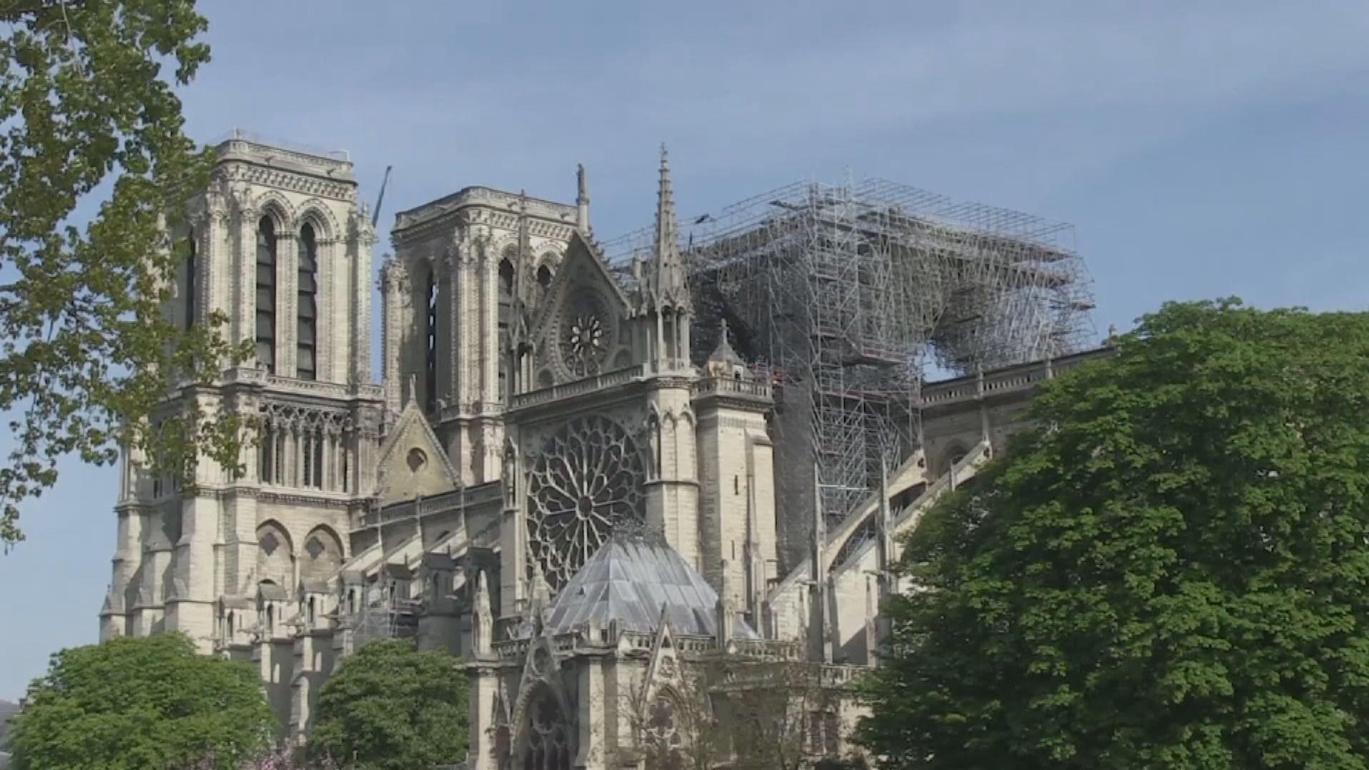 巴黎聖母院大火或由電線短路所致