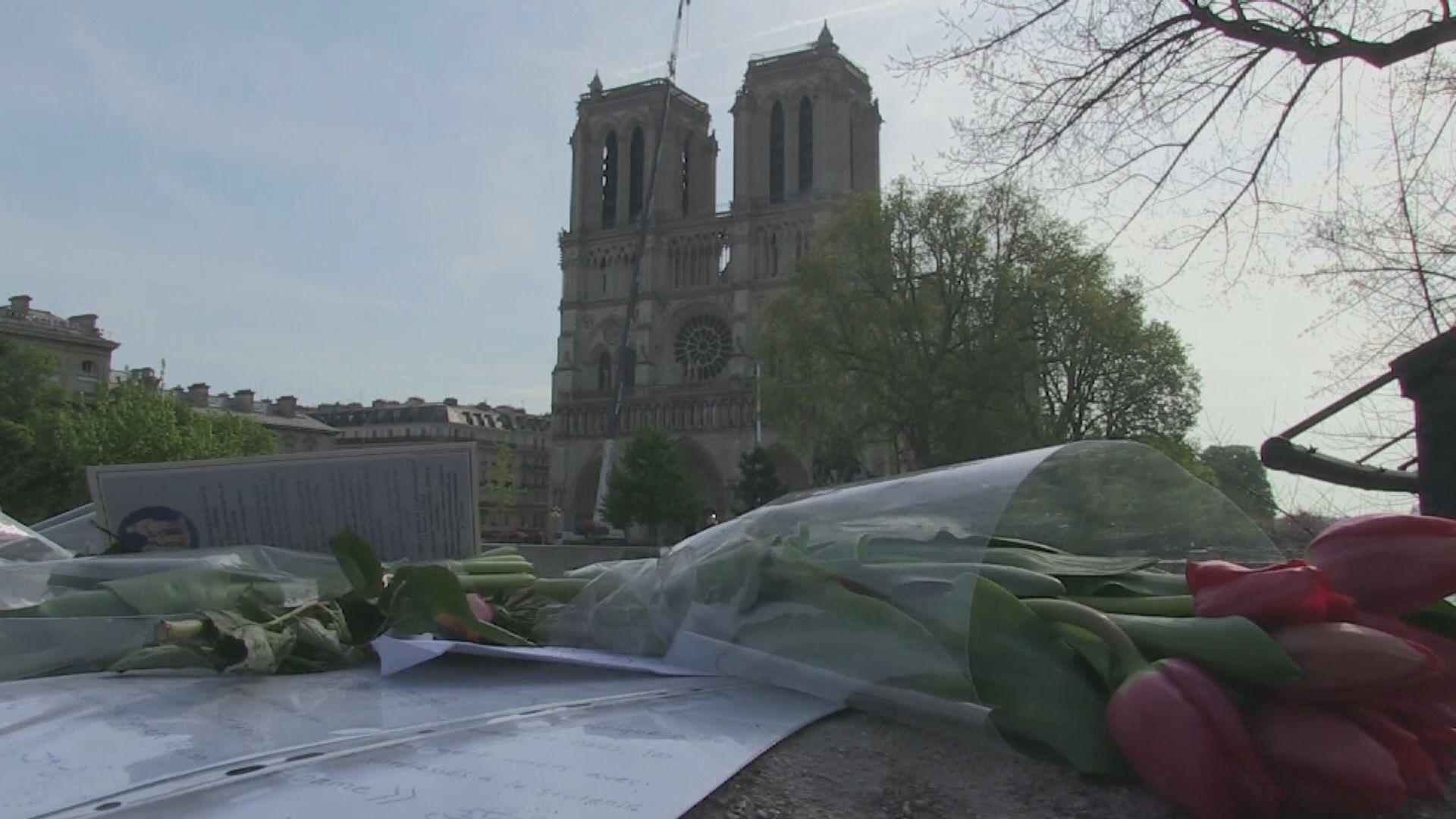 法國市政府同意修建臨時教堂向公眾開放