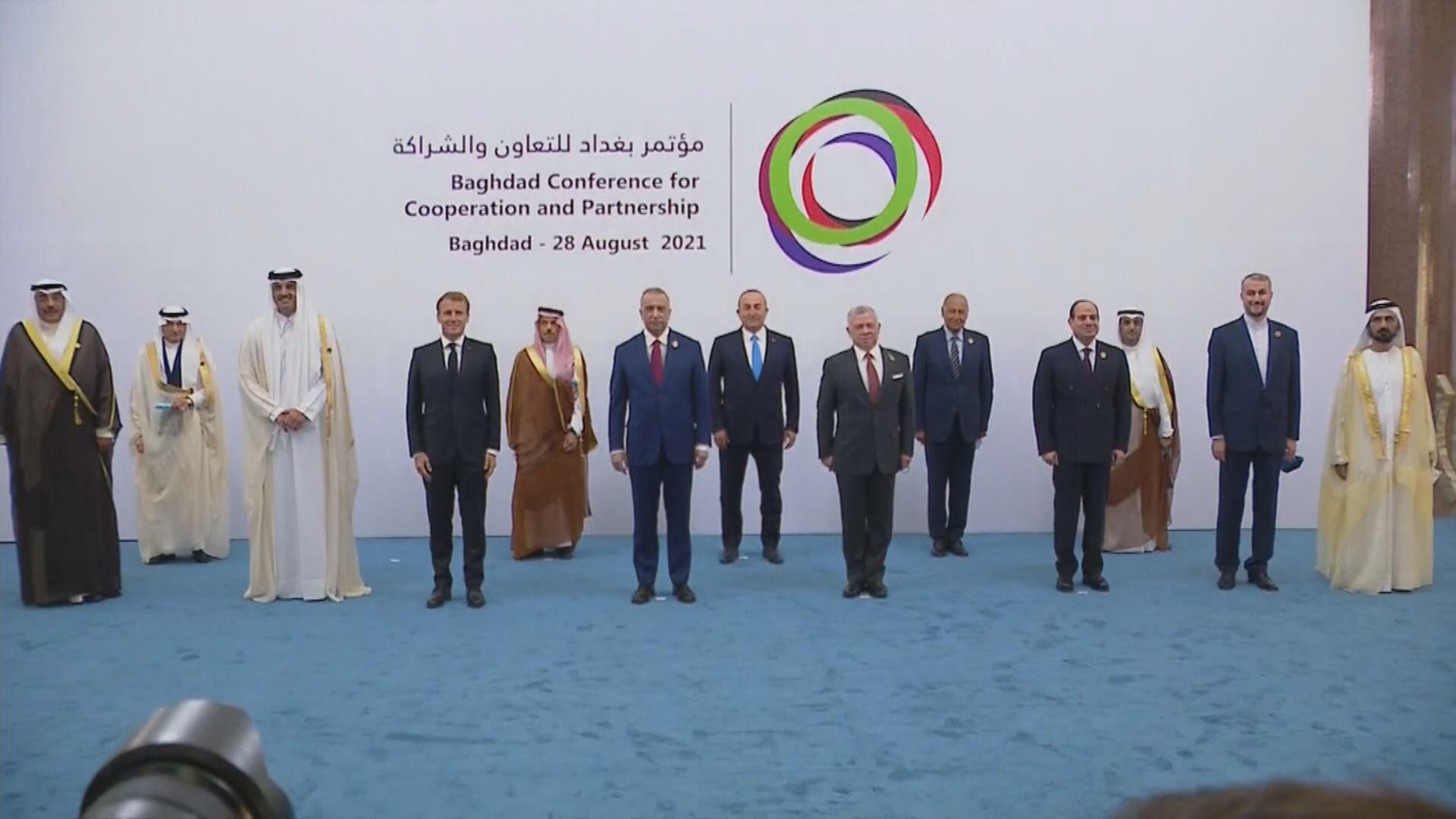 伊拉克舉行中東地區峰會 法國總統馬克龍有份參與