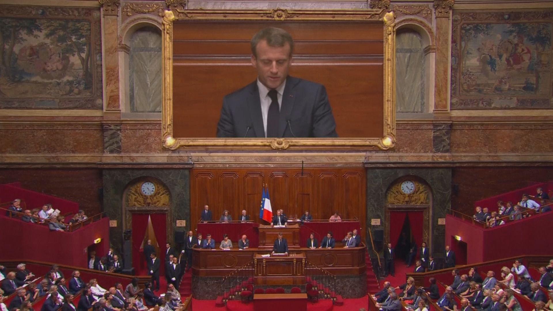 法國執政黨再有黨員退黨 馬克龍失國民議會過半優勢