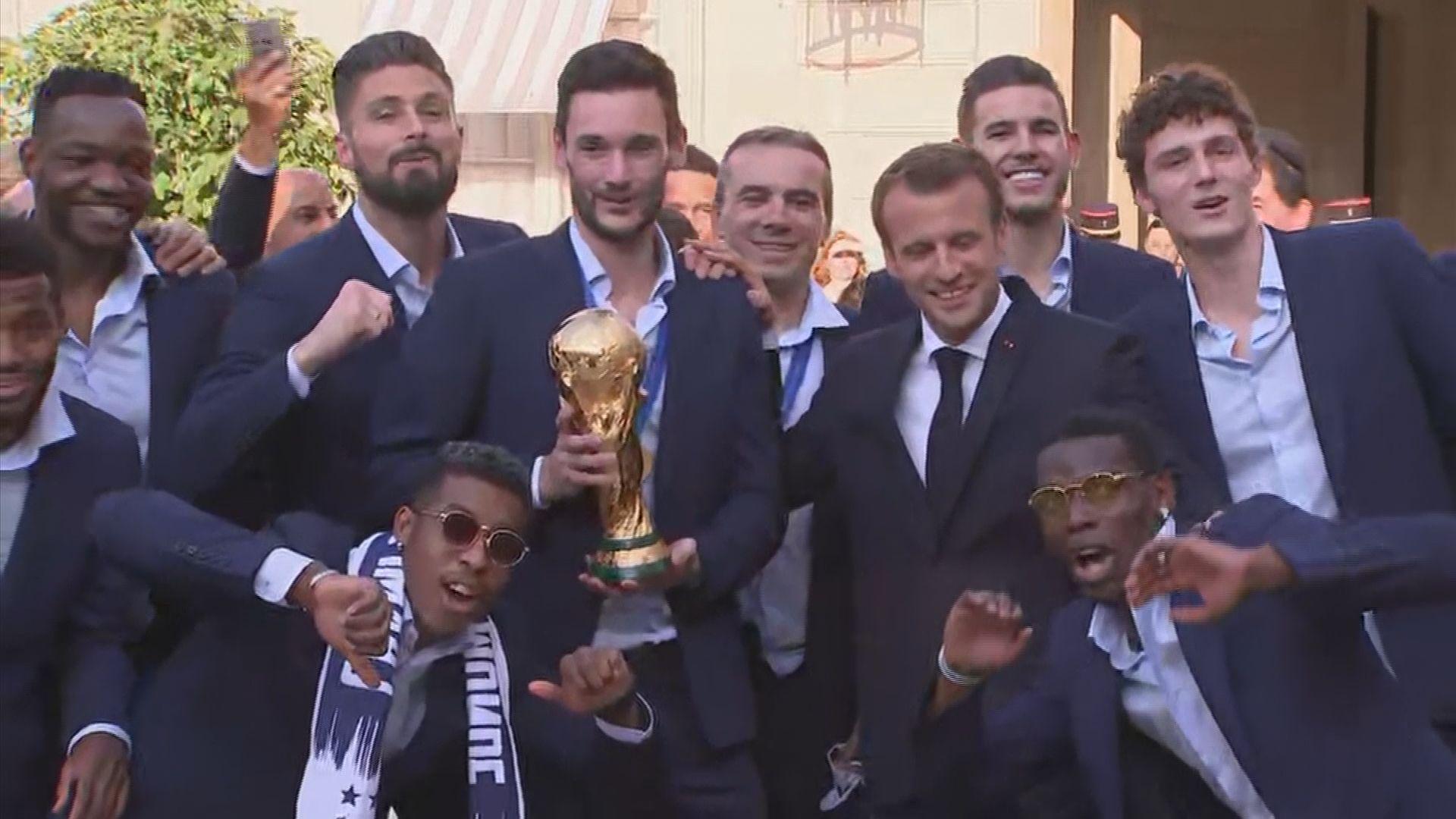 法國隊奪世界盃後將授榮譽軍團勳章