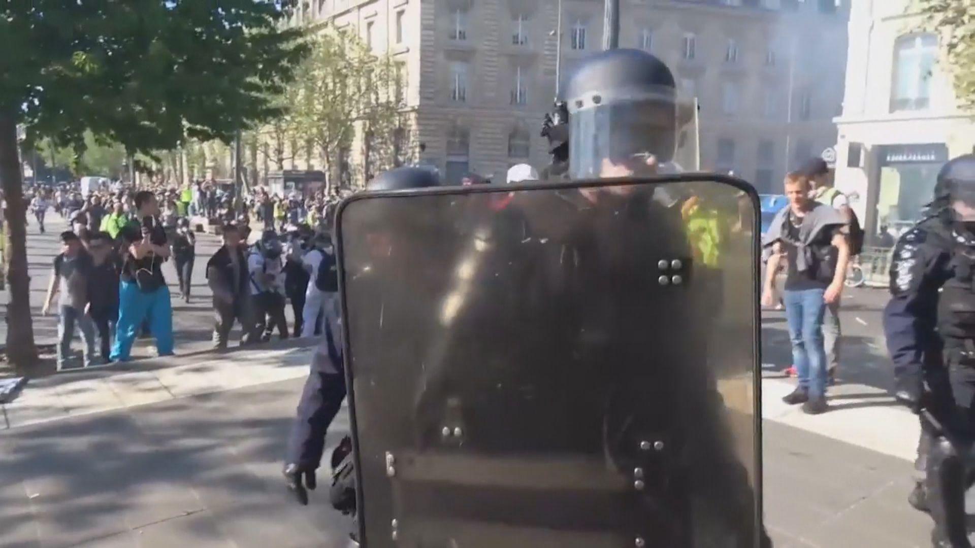 法國黃背心示威 仇警氣氛下警員工作壓力增