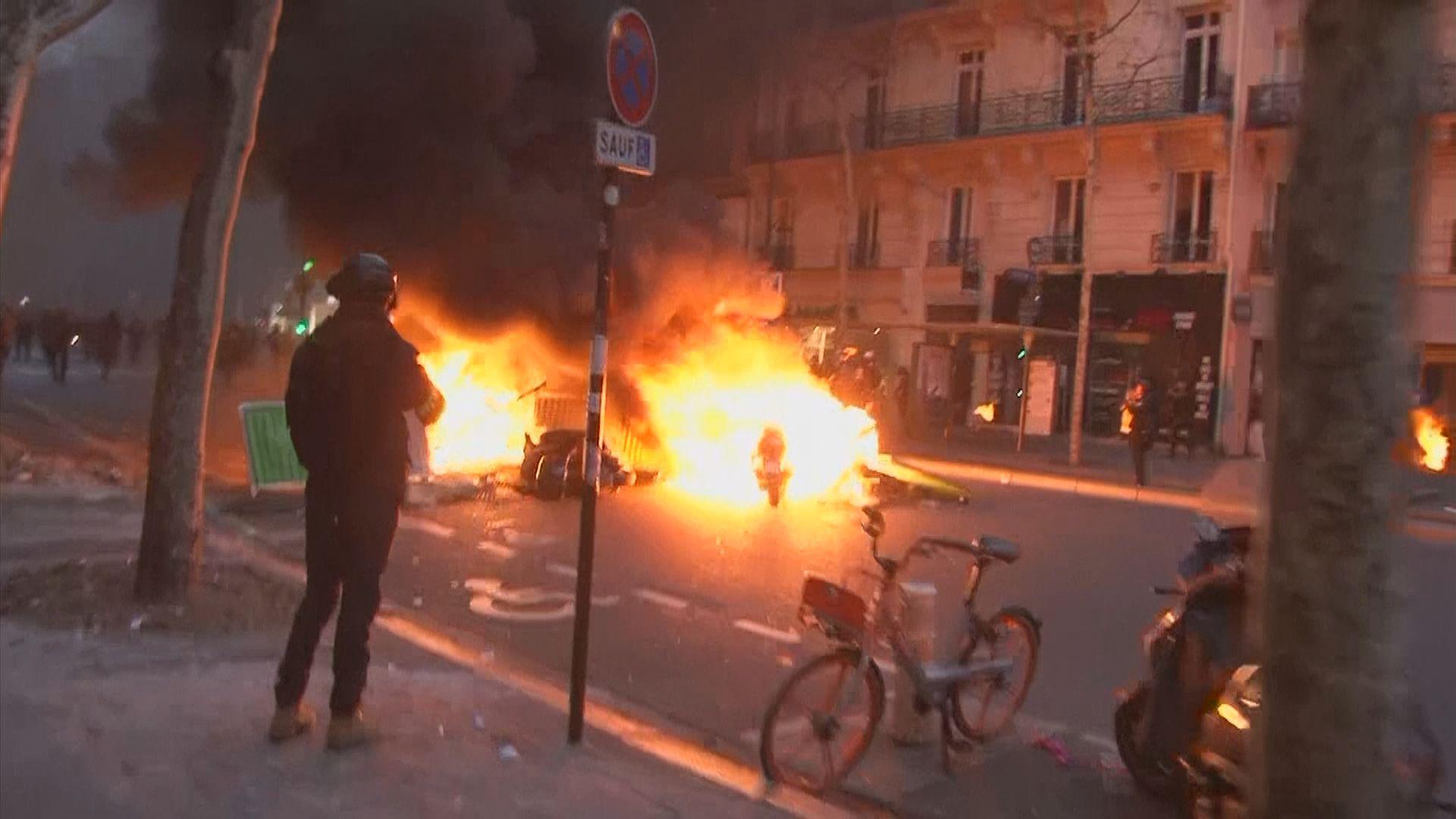 法國草擬新法嚴懲暴力示威行為