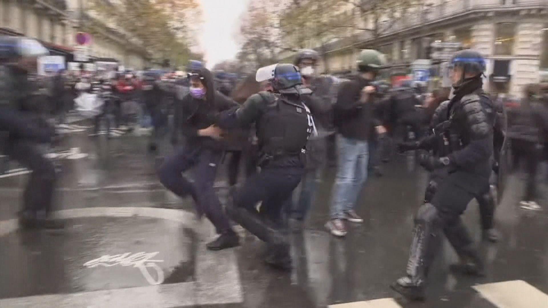 法國再有示威反對被指保護警察的安全法案