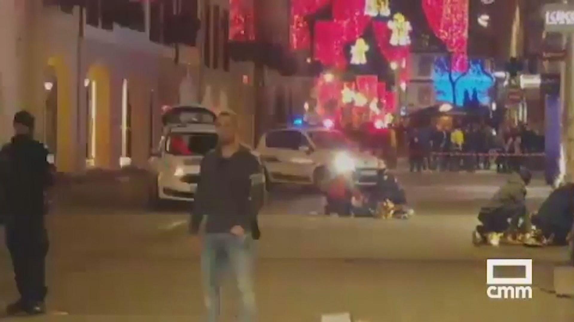 法國聖誕市集槍擊案被列恐怖主義事件