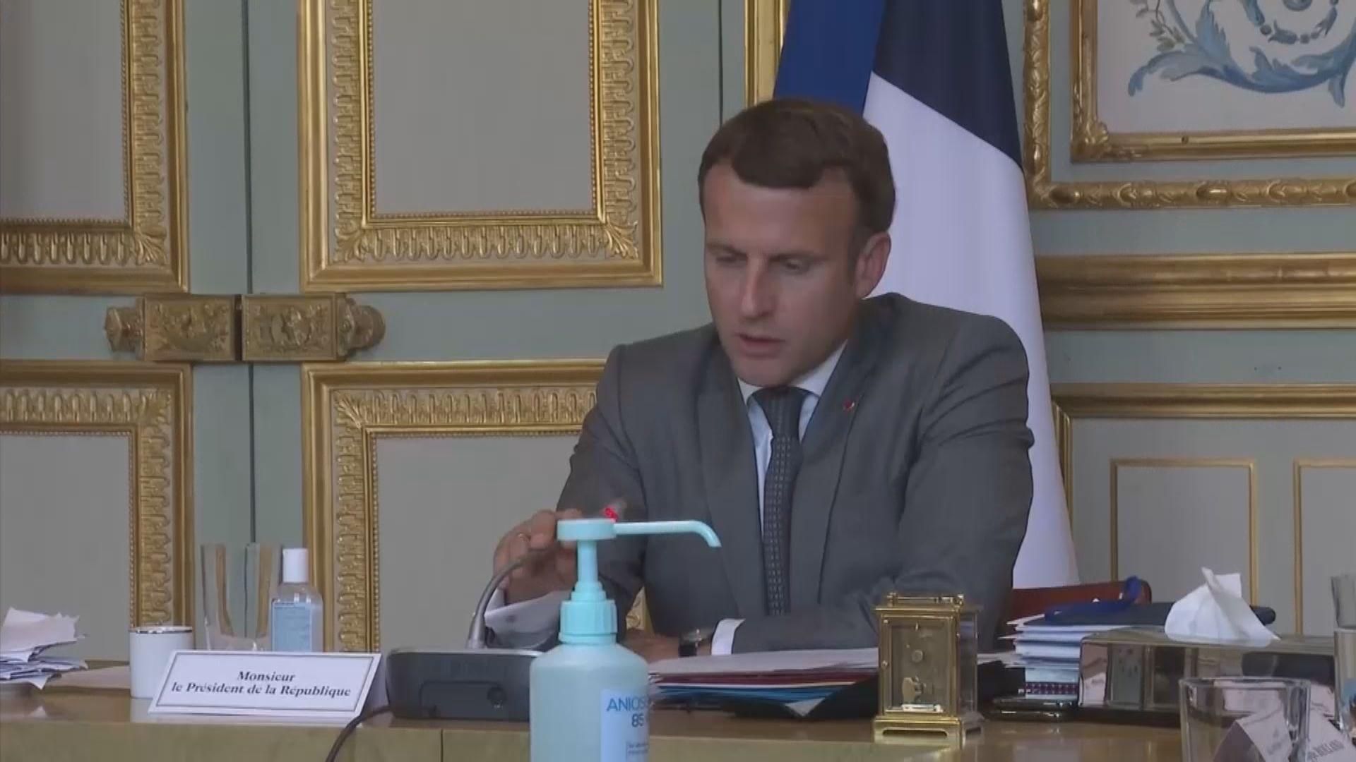 法國總統馬克龍更換手機及電話號碼