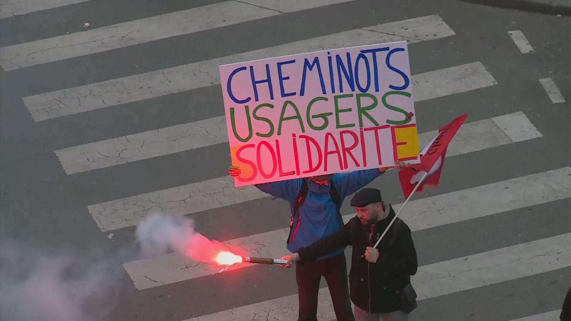 法國工會發起下周四全國大罷工