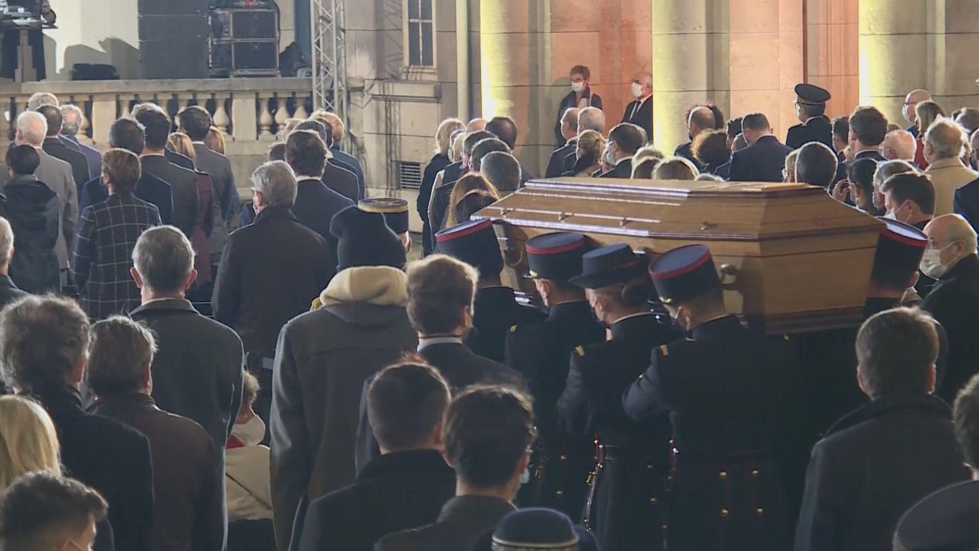 法國為遭斬首殺害教師舉行哀悼儀式