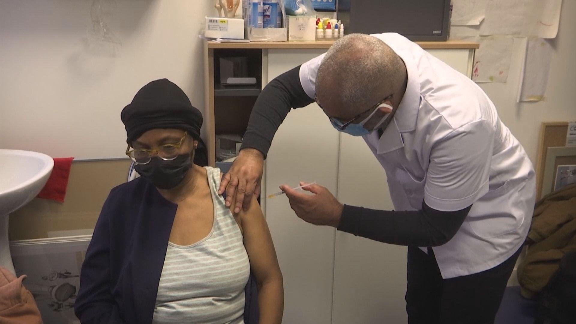 法國准65歲或以上人士接種阿斯利康疫苗