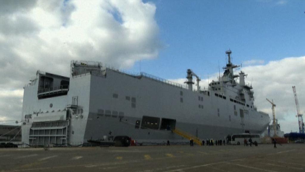 消息:法國派先進艦艇參與聯合軍演