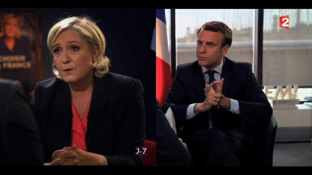 法國總統候選人期待周三辯論