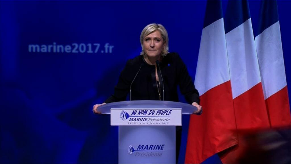 瑪麗勒龐稱法國優先是國家未來出路
