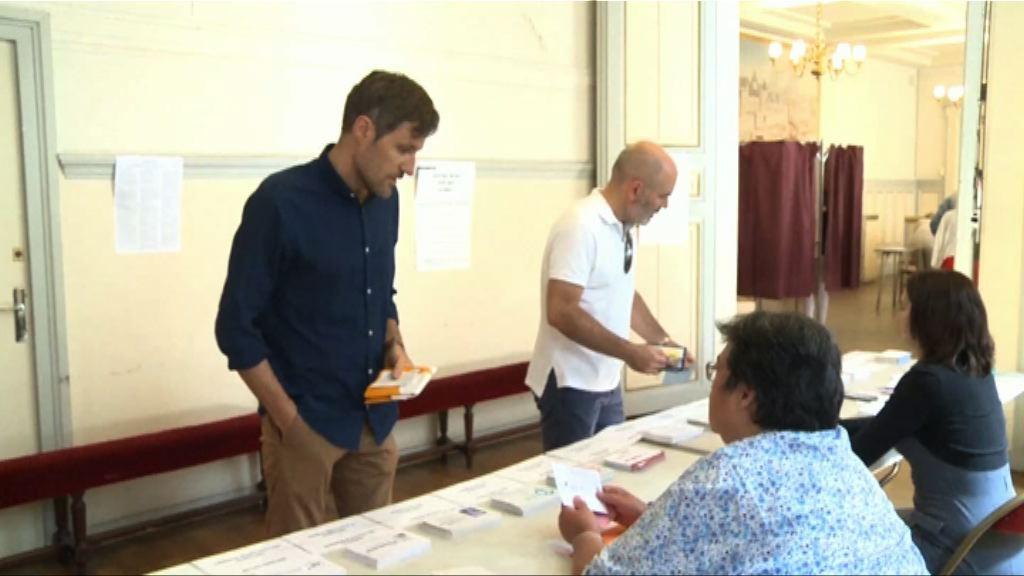 法國今天舉行國民議會次輪投票